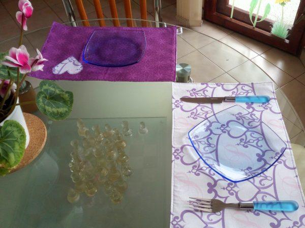 Подложки за сервиране в лилаво