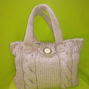 Дамска чанта плетиво