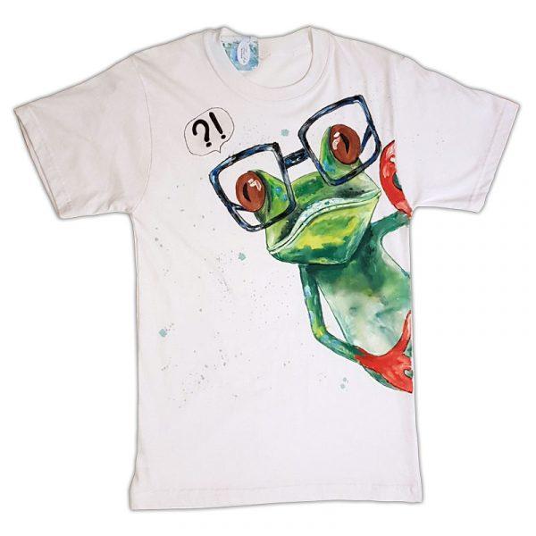 """Рисувана тениска """"Жаба"""""""