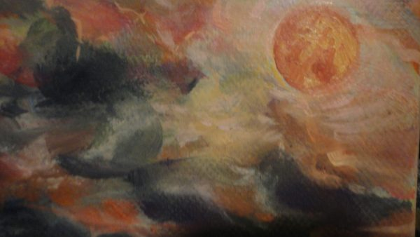 "Картина ""Хиени"" - маслени бои"