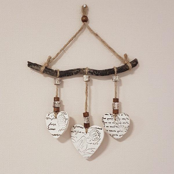Керамични пана със сърца