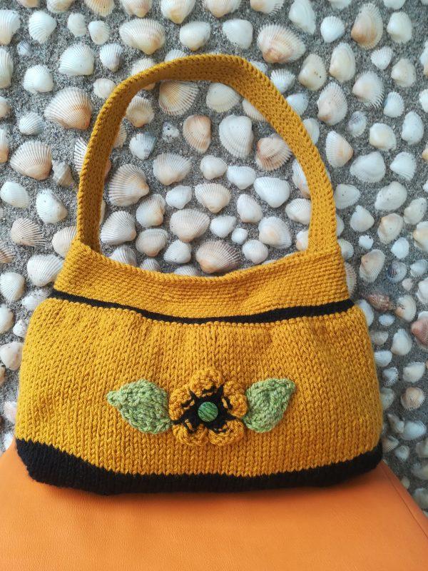 """Дамска чанта """"Златна есен"""" 2 /продадена /"""
