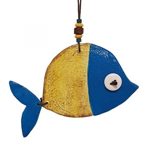"Керамична фигура ""Рибка с подвижна опашка"""