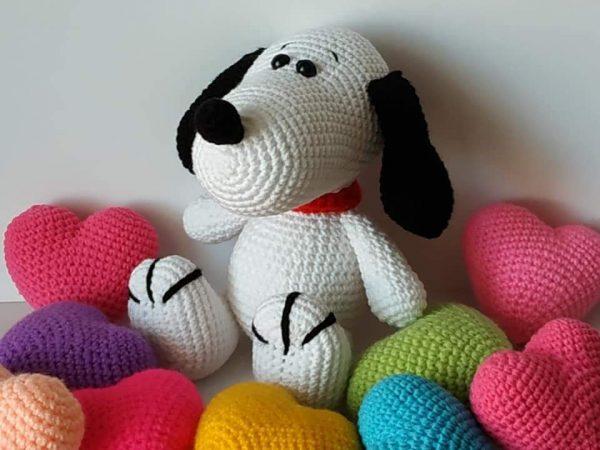 Плетени играчки - Кученце Снупи