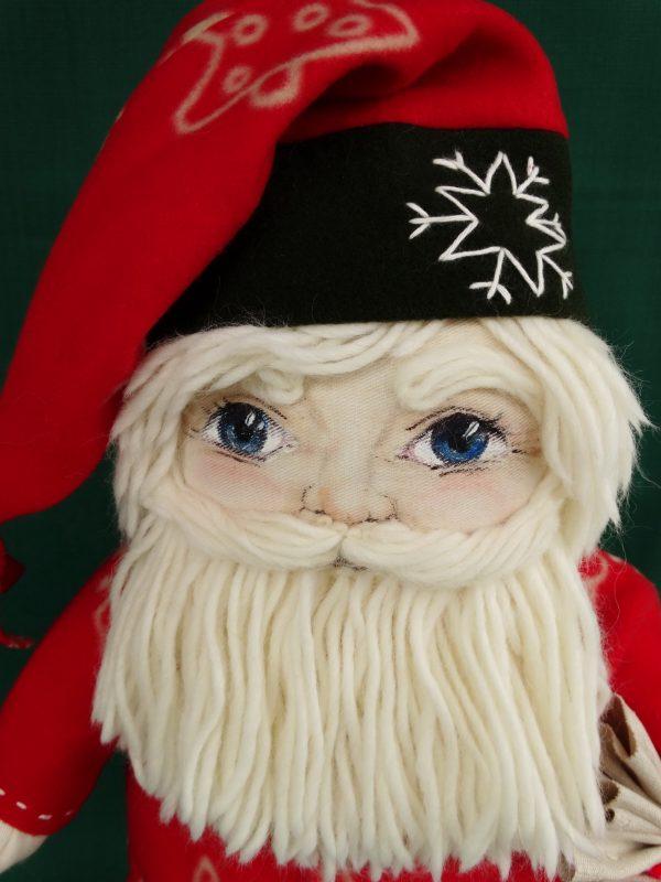 Дядо Коледа - текстилна кукла