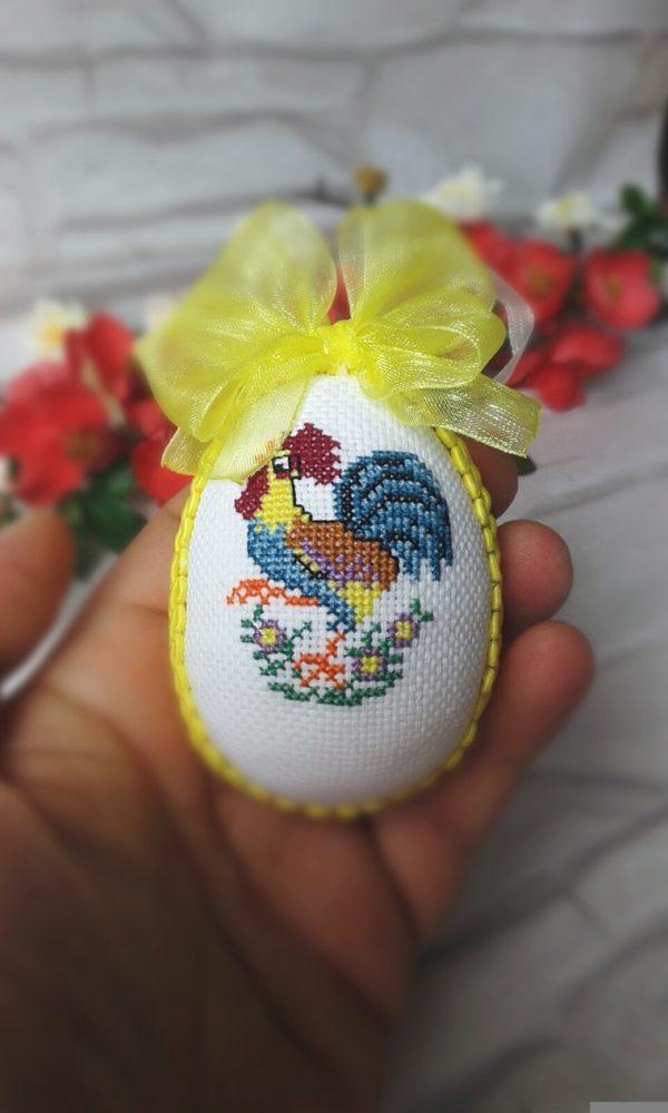 Бродирано Великденско яйце
