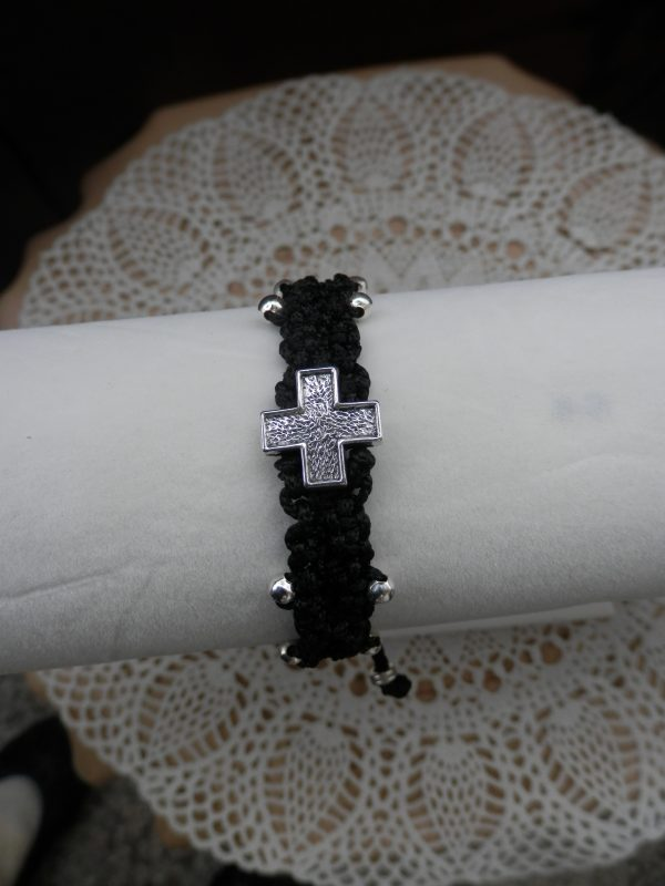 Рицарска гривна в черно