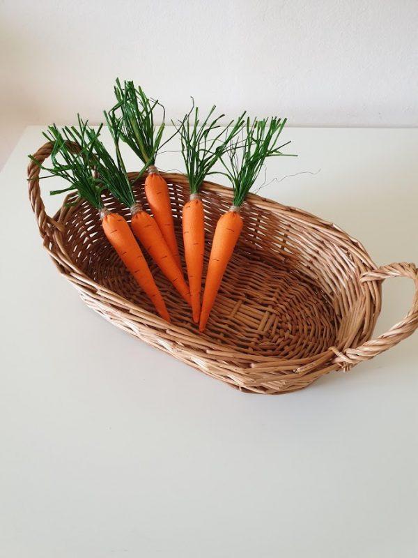 Морковче от плат