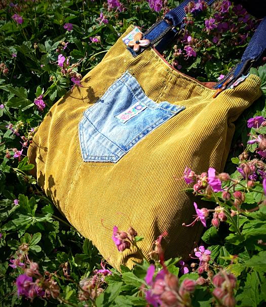 Чанта от кадифе
