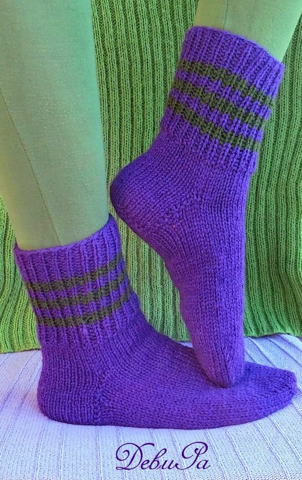 """Плетени чорапи ,,Зимзелен"""""""
