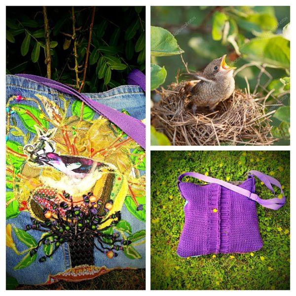 """Чанта ,,Гнездото на славея"""""""