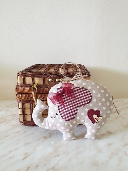 Слонче от плат