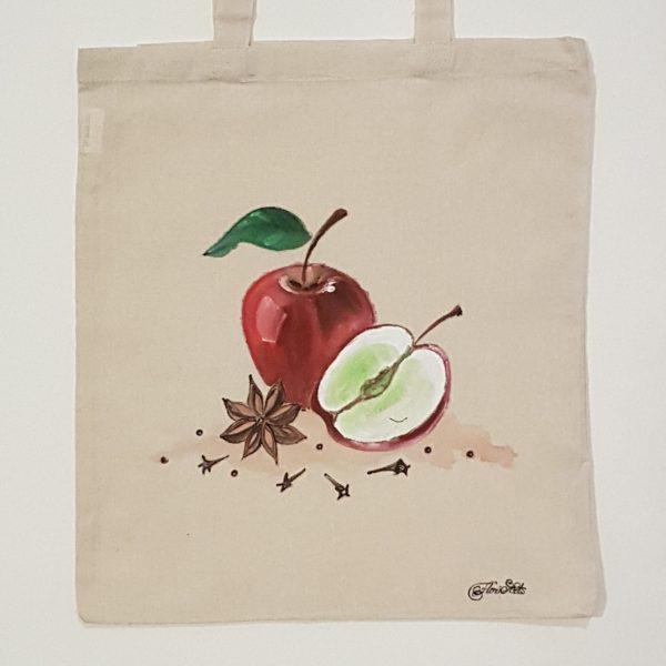 """Текстилна торбичка """"Ябълка с анасон"""""""