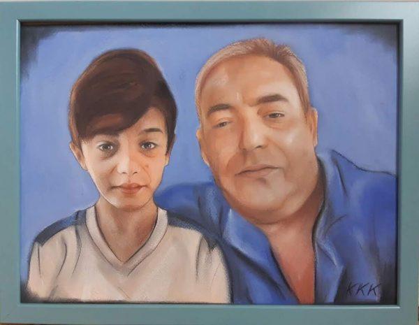 Ръчно рисувани портрет или карикатура/шарж