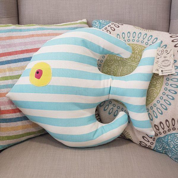 Риба скалария голяма - светло синьо рае