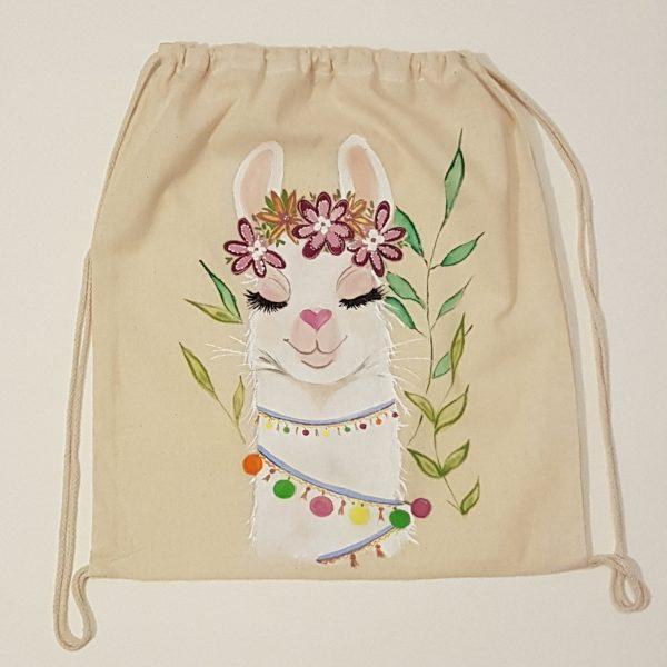 "Текстилна раница ""Лама"""