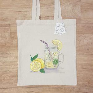 "Текстислна торбичка ""Лимонада"""
