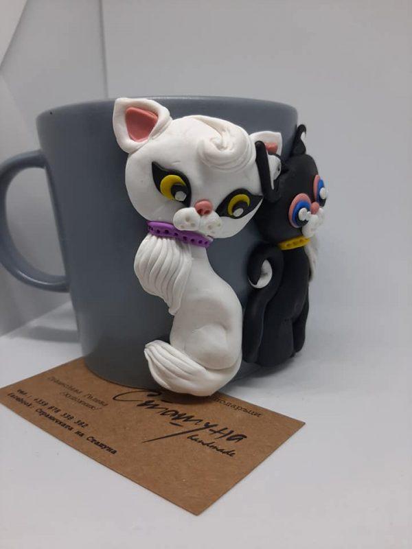 Чаша с котенца 250ml