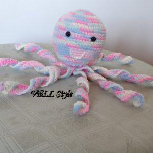 Декоративна играчка- октоподчето Пъстроцветко