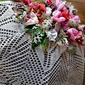 Винтидж декоративно чадърче
