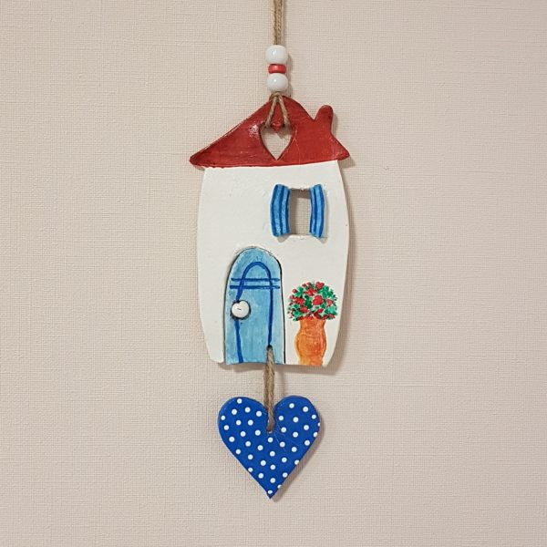 """Керамична къща """"Средиземноморие"""" със сърце"""