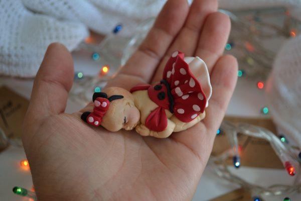 Коледни топки за елха – бебе