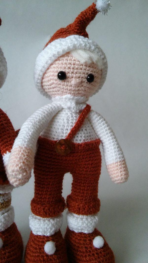 """Плетени """"Коледни елфчета"""""""