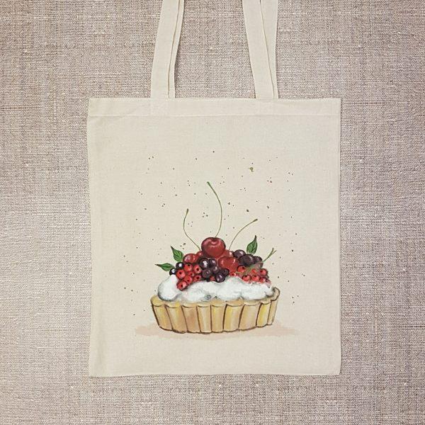 """Текстилна торбичка """"Плодов пай"""""""