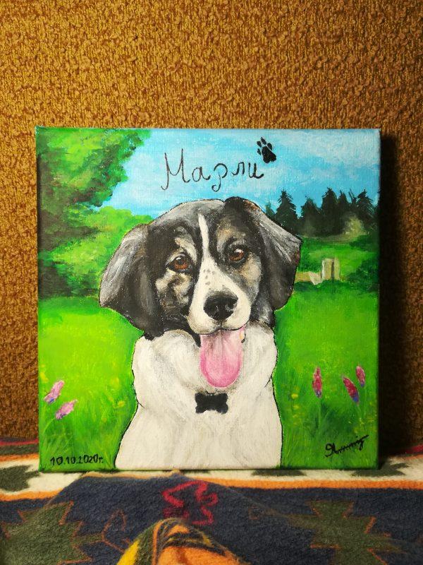 Ръчно рисувани портрети на домашни любимци и други животни! ❤️🐶
