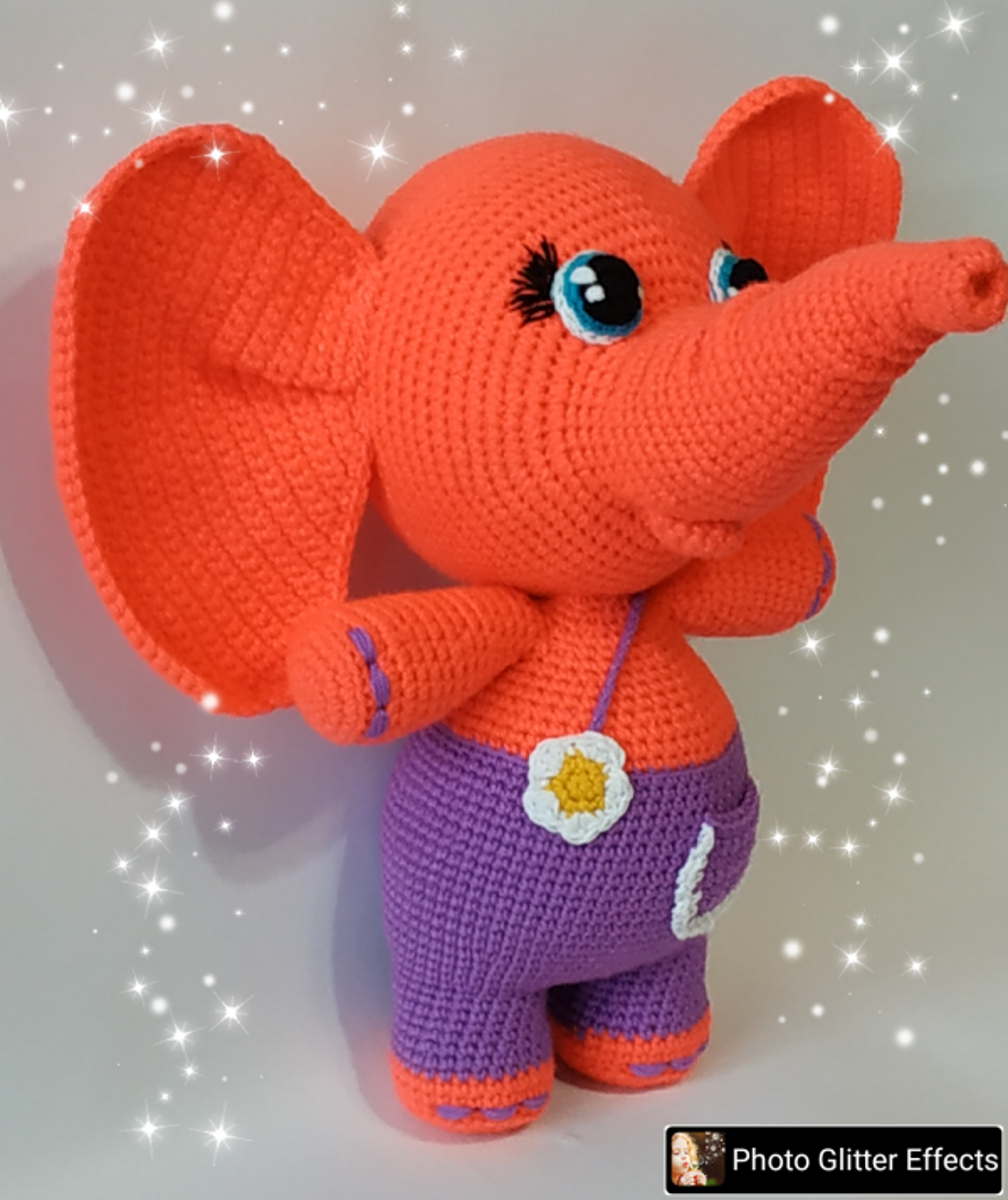 """Плетена играчка """"Слонче"""""""