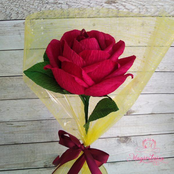 Роза с бонбон Рафаело