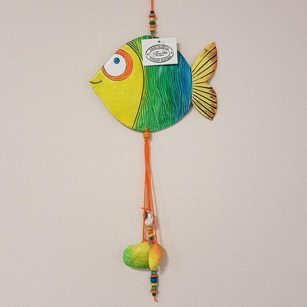 """Керамична фигура """"Риба Дори - морски вълни"""""""