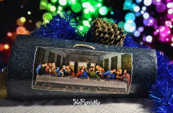 """Керемида """"Тайната Вечеря"""" оригинален подарък"""