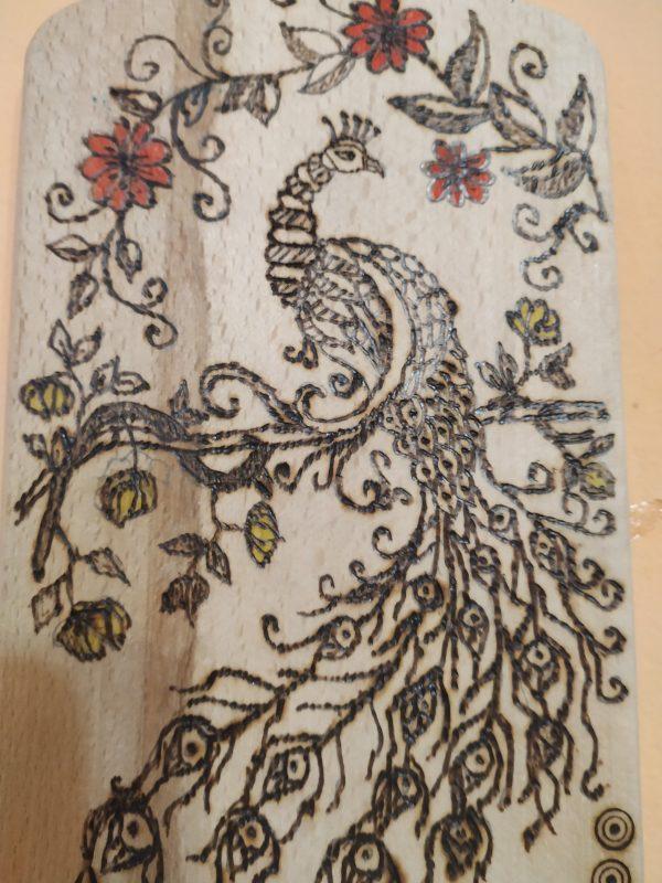 Пирографирано дърво 🌲