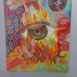 """Картина """"Свещен Огън"""""""