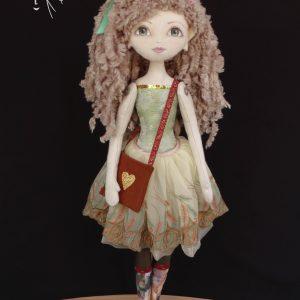 Стелла - текстилна кукла
