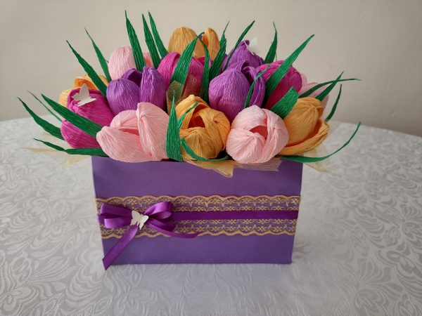Плик с цветя