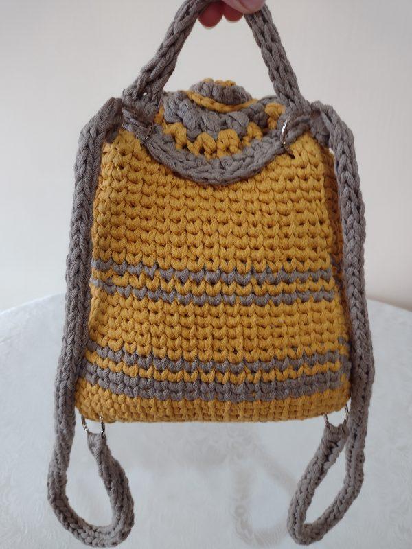 Плетена раничка на една кука