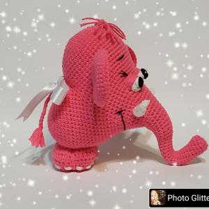 Плетени играчки - Слонче сърце
