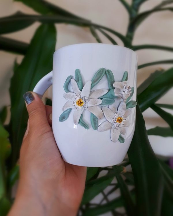 Чаша с полимерна глина.