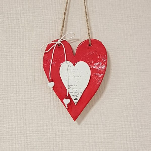 Керамично сърце в сърце