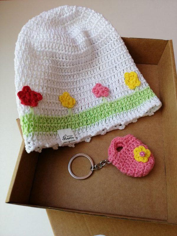 Детска памучна шапка
