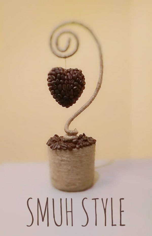 """Ръчно изработено """"Дърво от кафе"""""""