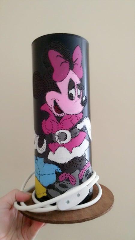 Нощна лампа - Мини Маус (Minnie Mouse Night light)