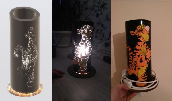 Нощна лампа - Тигър (Tigger Night light)