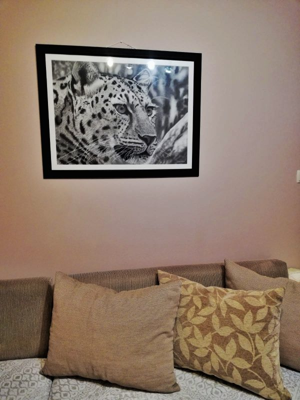 """Картина/Рисунка с моливи Принтове - """"Концентрация"""""""