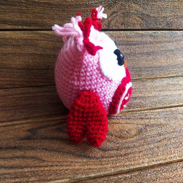 Бухалче - плетена играчка