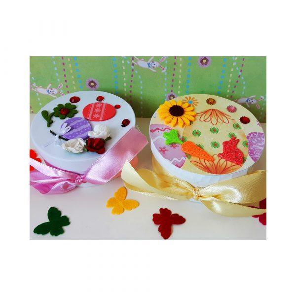 Подарък за Великден Кутия с пожелания късмети