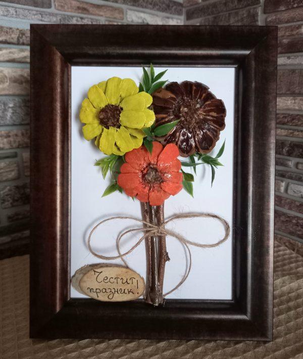Цветя, ръчна изработка