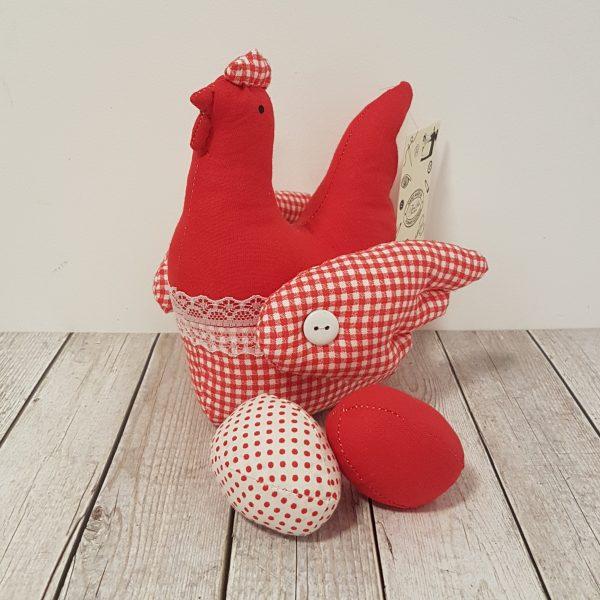 Великденска кокошка за декорация
